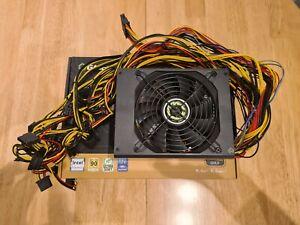 GameMax GM-1650, 1650w PSU 80+ Gold. Bitcoin Ethereum mining power supply