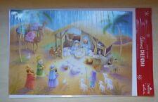 Hallmark DaySpring Jesus is Born advent calendar card, XCV1006 nativity, puzzles