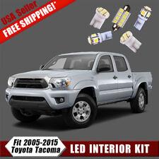Interior Light Package Kit For 2005-2014 2015 Toyota Tacoma White LED Bulb 11PCS