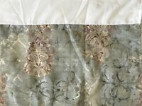 Croscill Cassarina Queen Bed Skirt Multi-color split corners 13""