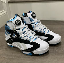 Reebok Pump Shaq Attaq - Size 10 - Retro Black/White/Teal - Deadstock Condition