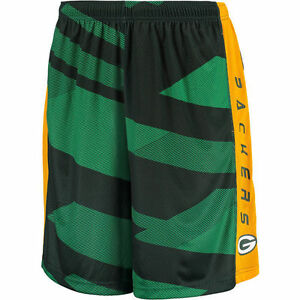 NFL Majestic Green Bay Packers Men's Team Pride Synthetic Shorts