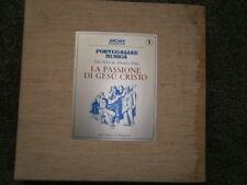 PORTUGALIAE MUSICA Almeida Motta PASSIONE DE GESU CHRISTO Archiv 3 LP 2710 009