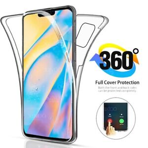 360 Front & Back CLEAR Case For iPhone 12 11 Pro Max Mini XR XS Shockproof Cover