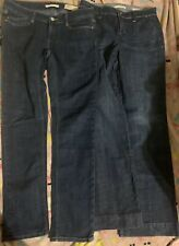 Women's Gap Jean Size 6 Lot Both Limited Edition Both Excellent