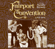 FAIRPORT CONVENTION-LIVE 1974 (US IMPORT) CD NEW
