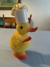 """""""Chef"""" yellow duck West German vintage candy container"""