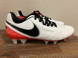 Nike Tiempo Legend VI K-Leather FG Soccer Cleats 819256-107 Women Sz 5.5