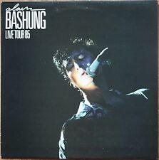ALAIN BASHUNG LIVE TOUR 85 33T LP 1985 PHILIPS 824.872 SERVICE PRESSE NEUF MINT