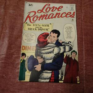 LOVE ROMANCES VOL 1  #99 MAY 1962 (kf)