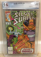 SILVER SURFER #V3 #44 PGX 9.6 NOT CGC 1ST APPEARANCE OF THE INFINITY GAUNTLET