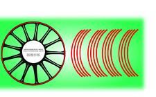 Strisce adesive cerchi ruote rim streps stickers decal YAMAHA YZF THUNDERCAT