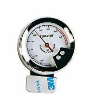 Termometro Per Temperatura Auto Con Led Luminoso Blu Forma Angolare Bottari