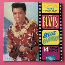Elvis Presley- Blue Hawaii LP Mono Rock Blues Pop Soundtrack 1961 RCA Victor
