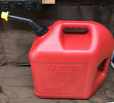 Vintage Blitz 5 Gallon Gas Can Self Venting With Spout And Cap
