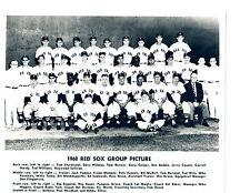 1960 BOSTON RED SOX  8X10 TEAM PHOTO WILLIAMS LAST YEAR  BASEBALL FENWAY