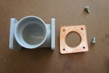 NUTONE Central Vacuum System Fittings DOUBLE FLANGED TEE w/Gasket & Screws CV104