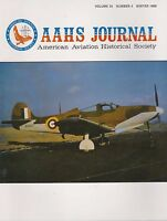 AAHS Journal American Aviation Historical Society-VOL 34 Winter 1989