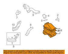VW VOLKSWAGEN OEM 98-05 Beetle Air Cleaner Intake-Filter Box Housing 1C0129607R