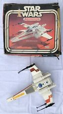 1979 Vintage Star Wars Complete X-wing Fighter Ship With Box