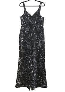 "*NWT* PINK DUSK Size 14-16 Ladies Black & White, ""Unforgettable"" Jumpsuit"