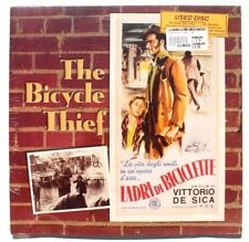 Sealed The Bicycle Thief (1948) Laserdisc New Ld (Black & White)