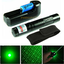 5 Miles Green Laser Pointer 851 1mw 532nm Laser Light Beam + Battery + Charger