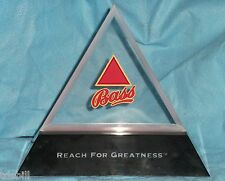 Bass Beer Red Lighted Triangle Display Sign - Branded Bar Pub Advertising Light
