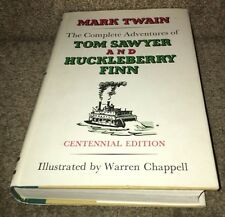 Twain, Mark; THE COMPLETE ADVENTURES OF TOM SAWYER AND HUCKLEBERRY FINN 1st Ed.