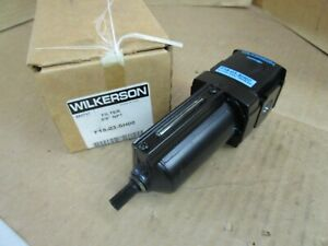 """Wilkerson Filter F18-03-SH00 F1803SH00 3/8"""" NPT New"""