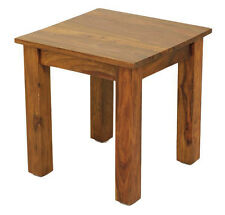 Golant Rosewood Lamp Table / Dark Wood Coffee Table / Indian Style Side Table