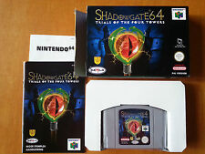 Shadowgate N64 (EUR PAL) | BOXED | BRAND NEW NOT SEALED
