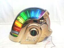 Volpin Daft Punk Helmet, Gold Chrome WITH complete LEDs kit!! DJ PARTY EVENTS!