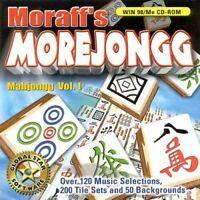Moraff's Morejongg PC New Sealed Mahjongg Volume 1