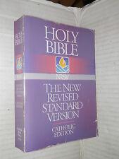 HOLY BIBLE The New Revised Standard Version Catholic edition 1990 sacra bibbia
