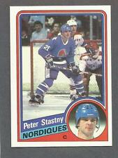 1984-85 Topps Hockey Peter Stastny #130 Quebec Nordiques NM/MT