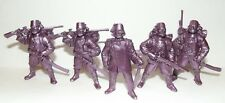 Russian toy soldiers. Tehnolog. Turks. Ottomans. Violet color. 1/35 or 1/32