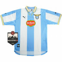 Maglia Lazio 1999-2000 - Calcio Retro Vintage Immobile Vintage Mihajlovic Veron