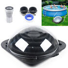Outdoor Solar Dome Inground & Above Ground Black Swimming Pool Water Heater Yard