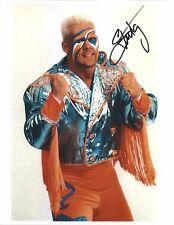 m952  The Icon Sting signed 8x10 wrestling photo w/COA  HISTORY **BONUS* WCW WWE