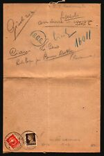 Italy 1934 Cover / RARE RATE / Resistance to Mussolini / Expert Signed - Z17912