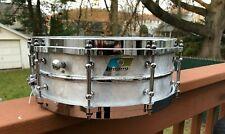Vintage Ludwig SupraPhonic Snare Drum, B/O Badge 14X5 FREE SHIPPING