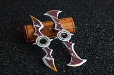 Fidget Finger Spinner LOL Draven Weapons Metal Model EDC ADHD AUTISM etc