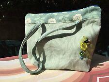 Handbag/Shoulder Bag, Green, Homemade..