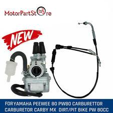 Kabel & Vergaser Für Yamaha PW80 PY80 Seilzug 88-06