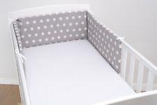BUMPER COTBED COT BABY BEDDING CRIB 120x60 140x70 NURSERY SET 100% COTTON INFANT