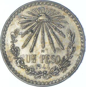 Better Date - 1944 Mexico 1 Peso - SILVER *599
