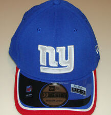 New Era Hat Cap NFL Football New York Giants New Era On-Field 39THIRTY Flex L/XL