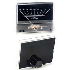 2pcs Denon Tn90 Vu Panel Meter Db Level Header For Audio Power Amplifier Chassis