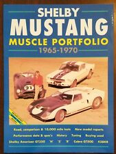 Shelby Mustang Muscle Cars, 1965-70 by R. M. Clarke (1984, Paperback)